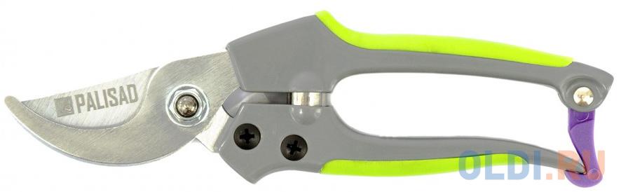 Секатор прямого реза, 180 мм, металлические обрезиненные рукоятки// Palisad недорого