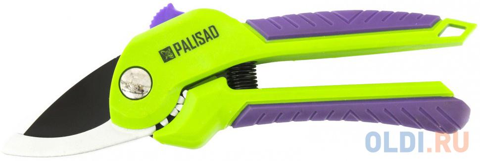 Секатор PALISAD 60532  210мм с прямым резом шестерен привод 2комп.ручки