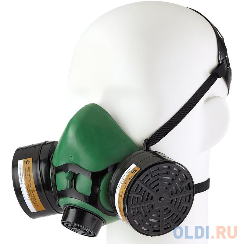 Респиратор ИСТОК-400 РУ-60М универсальный фильтрам А1В1Р1 маска исток щит003