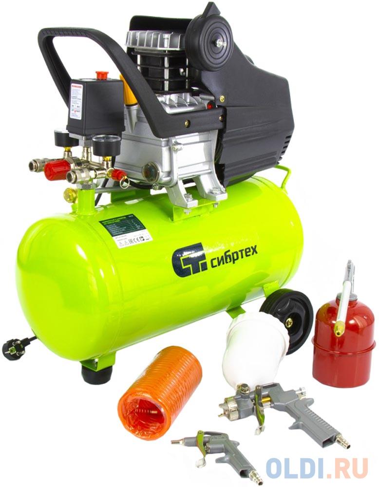 Компрессор с набором КК-1500/24 ПЛЮС, 1,5 кВт, 198 л/мин, 24 л, прямой привод, масляный </div> <div class=