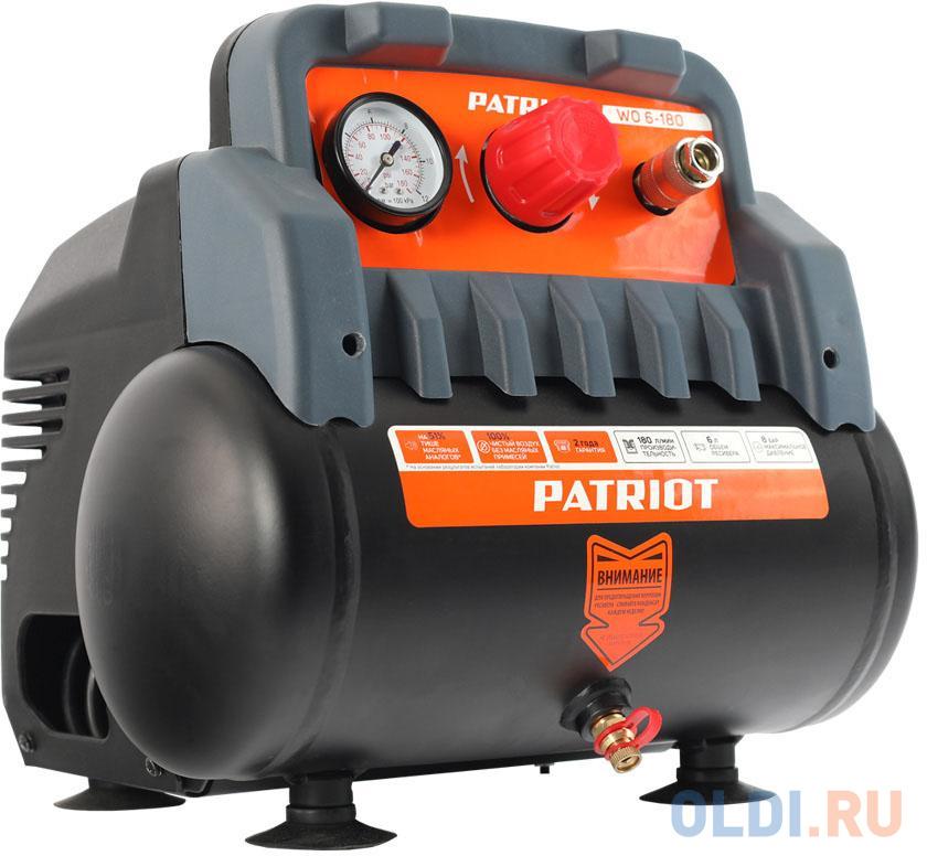 Поршневой безмасляный компрессор PATRIOT WO 6-180 525301910