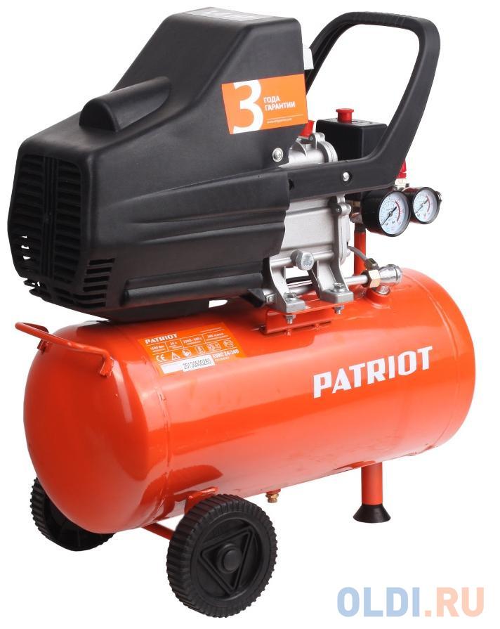 Компрессор Patriot Euro 24-240 поршневой 525306365 компрессор patriot euro 50 260к 525306316