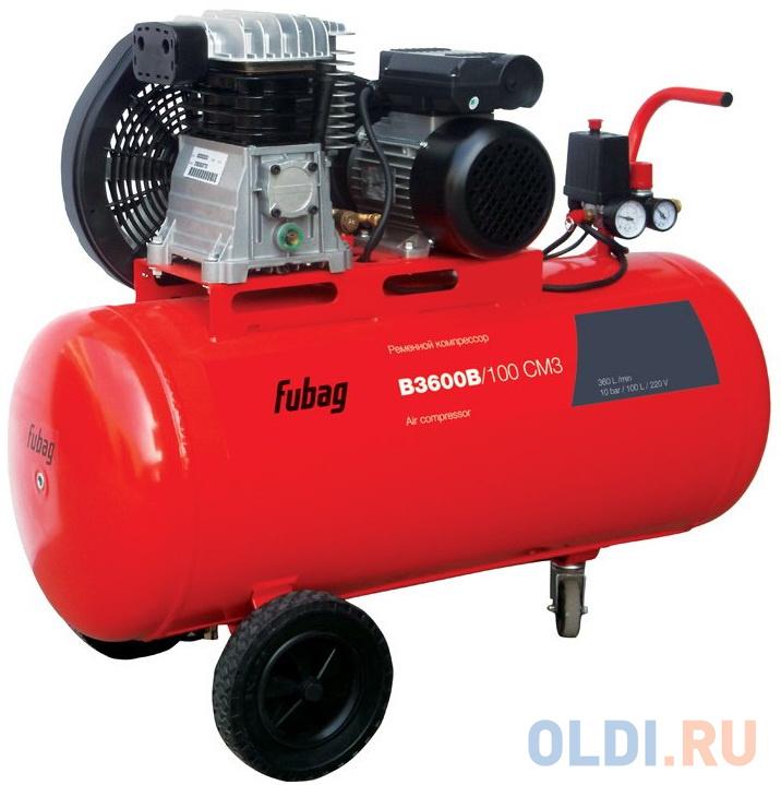 Компрессор Fubag B3600B/100 CM3 2.2кВт.