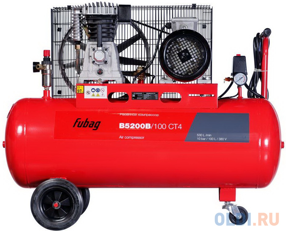 Компрессор Fubag B5200B/100 СТ4 3.0кВт.