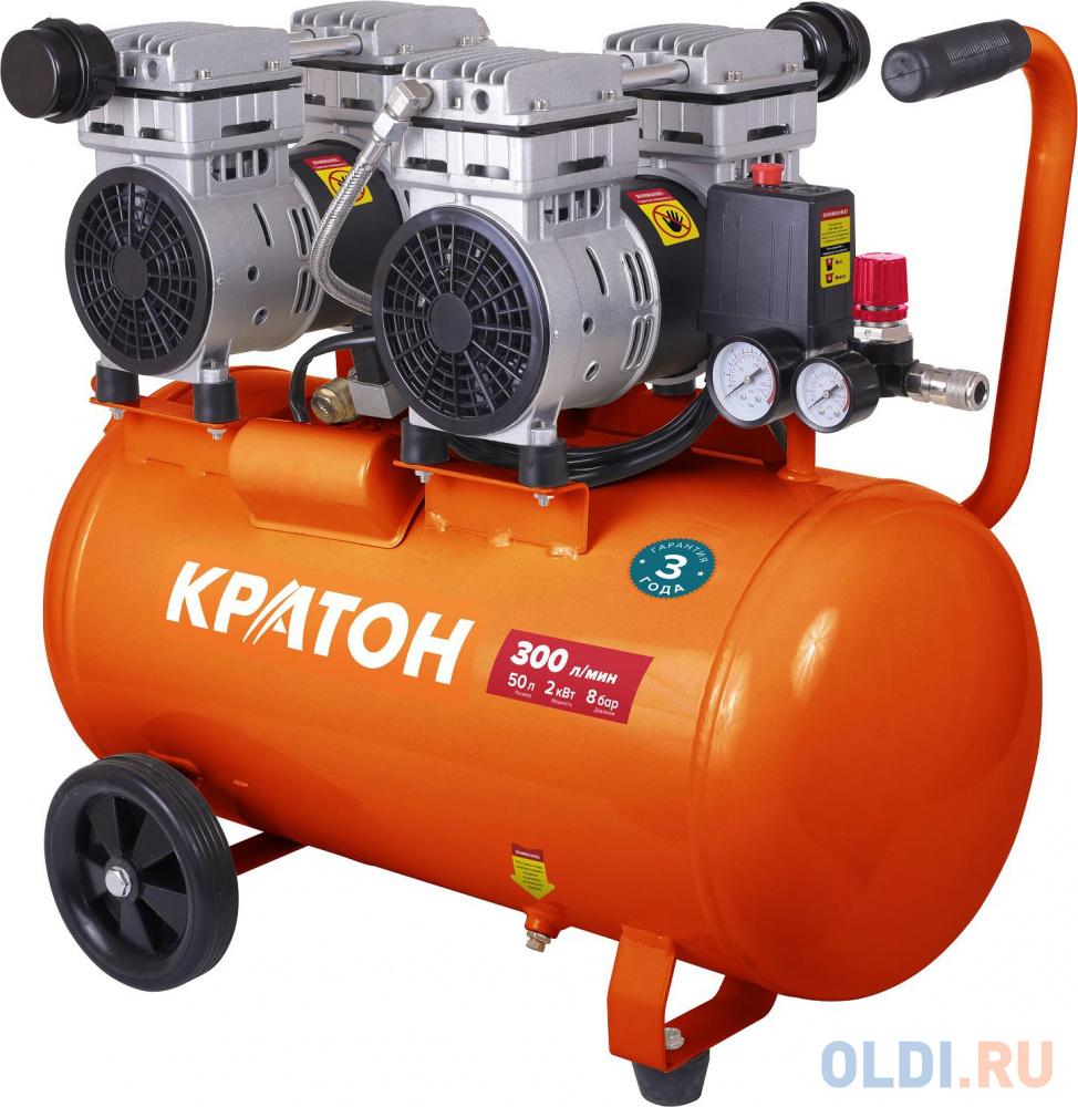Компрессор КРАТОН AC-300-50-OFS с прямой передачей безмасляный