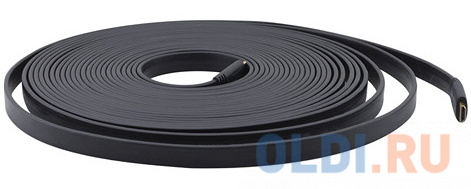 Кабель HDMI 4.6м Kramer 97-01014015 плоский черный