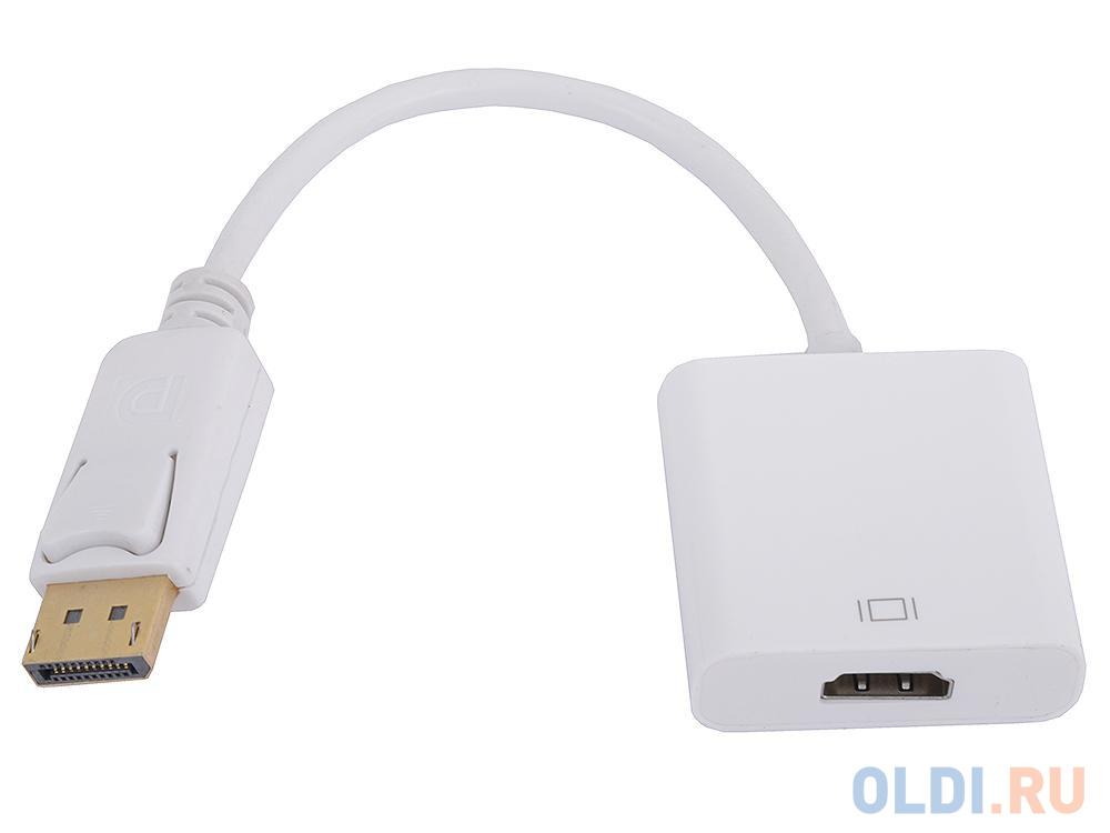 Кабель-переходник DisplayPort(M) --- HDMI(F) 0.1m VCOM CG553