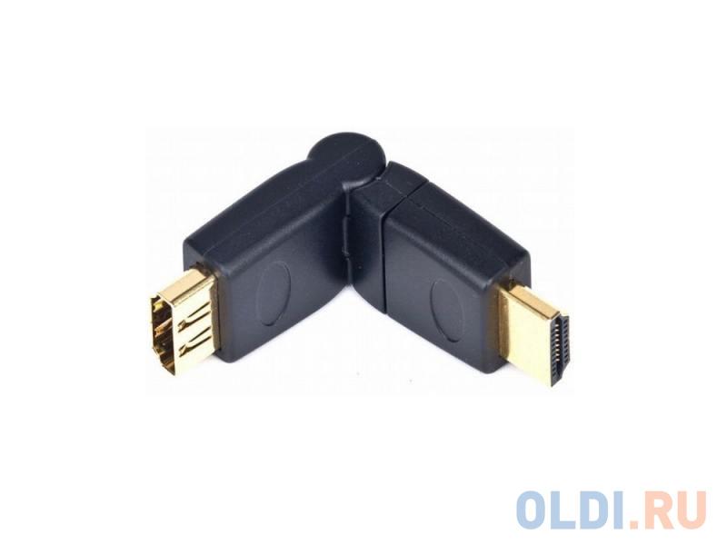 Переходник HDMI F-HDMI M Gembird A-HDMI-FFL2