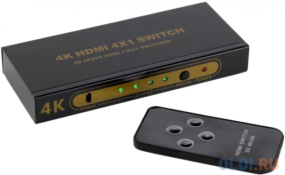 Переключатель HDMI 4=1 4k@ 30HZ
