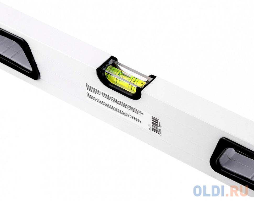 Уровень алюминиевый 800 мм усиленный рукоятки фрезерованный 3 глазка магнитный// Gross.