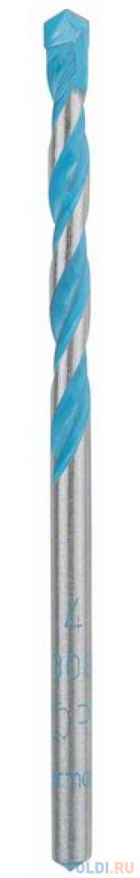 Сверло BOSCH CYL-9 Multi Construction 4.0 мм (2.608.596.050) 4.0x75мм, 1шт. сверло универсальное bosch multi construction cyl 9 5x85 мм 2608596051