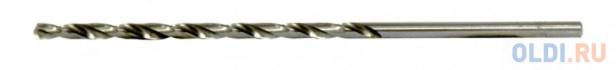 Сверло спиральное по металлу 3 х 100 мм, Р6М5, удлиненное, 2шт.// Барс
