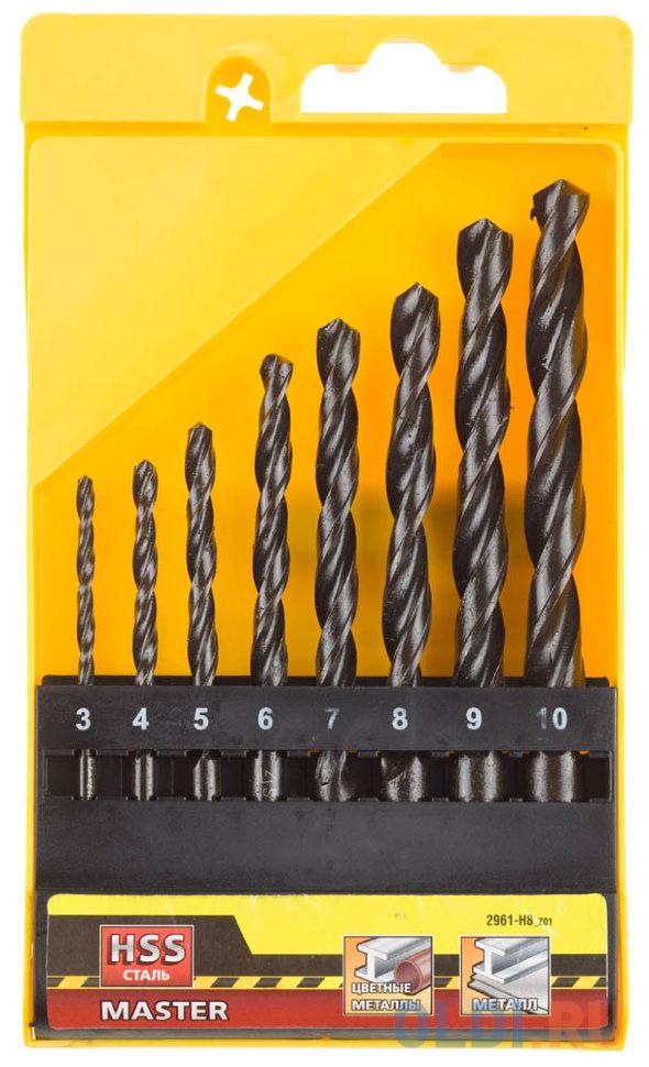Набор сверл DeWALT DT5912-QZ по металлу HSS-R (13шт.) в пластиковой кассете