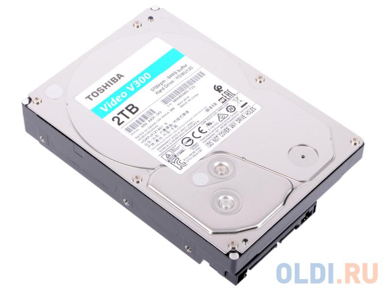 Жесткий диск Toshiba V300 HDWU120UZSVA 2Tb