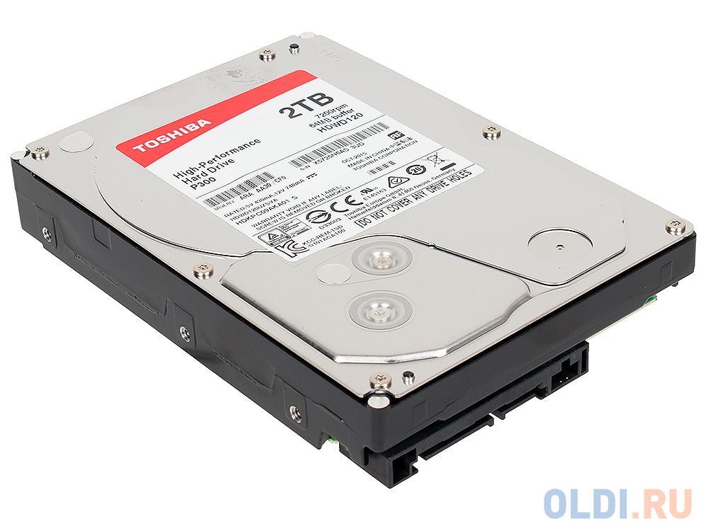 Жесткий диск Toshiba HDWD120UZSVA 2 Tb жесткий диск toshiba 2 tb hdwd120ezsta