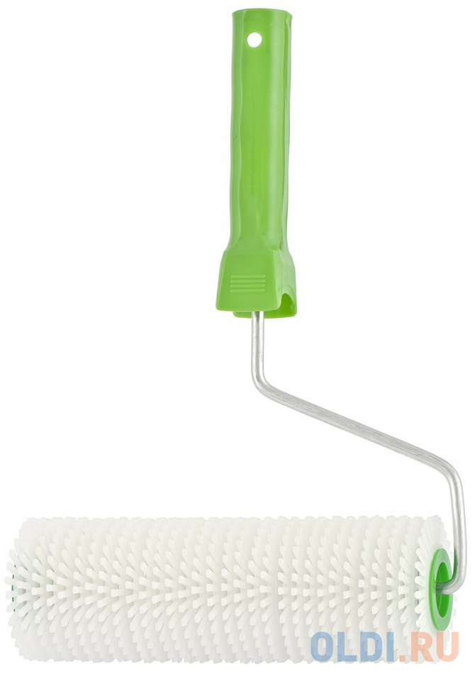 Валик игольчатый для наливных полов с ручкой, 200 мм// Сибртех сандалии для наливных полов stayer 11191