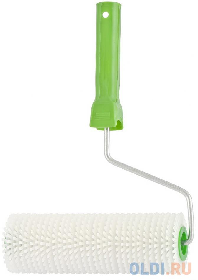 Валик игольчатый для наливных полов с ручкой, 240 мм// Сибртех сандалии для наливных полов stayer 11191