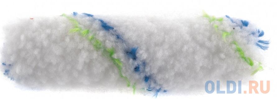 """Мини-валик сменный """"Водные краски"""",110 мм,ворс 12 мм,D - 16 мм, D ручки - 6 мм, полиэстер// Сибртех"""
