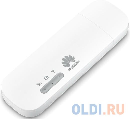 Модем 3G/4G Huawei E8372h-320 USB Wi-Fi +Router внешний белый модем huawei e5576 320 3g 4g внешний белый [51071rwy]