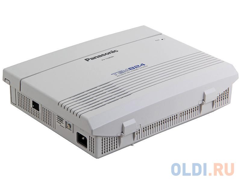 АТС Panasonic KX-TEM824RU аналоговая, 6 внешних и 16 внутренних линий (предельная ёмкость 8 внешних