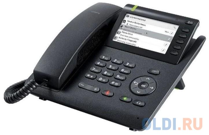 Телефон SIP Unify OpenScape CP600E черный (L30250-F600-C433).