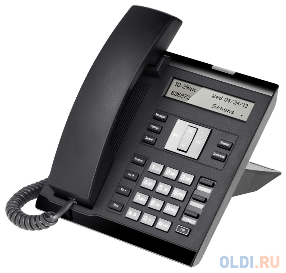 Телефон IP Unify OpenScape 35G Eco Text черный L30250-F600-C420.