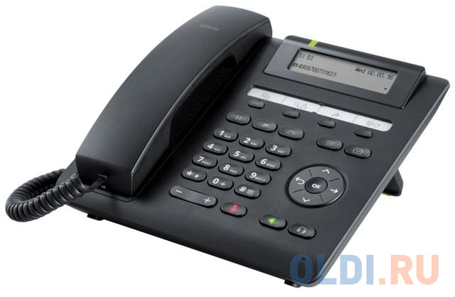 Телефон SIP Unify OpenScape Desk Phone CP200T черный (L30250-F600-C435).