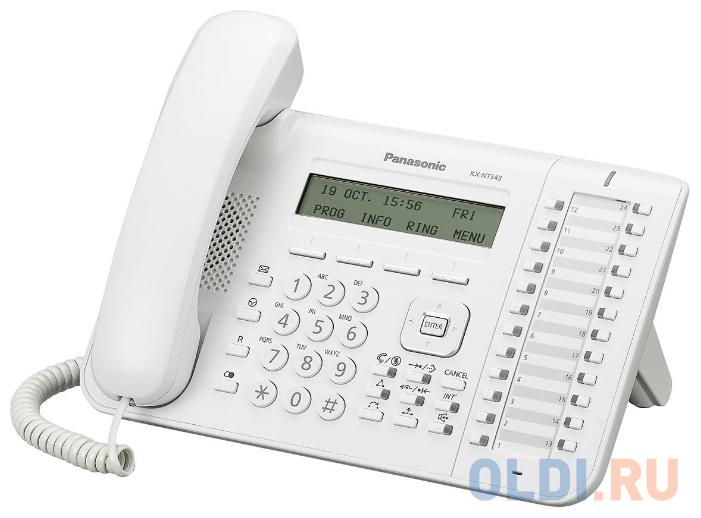 Телефон IP Panasonic KX-NT543RU белый недорого
