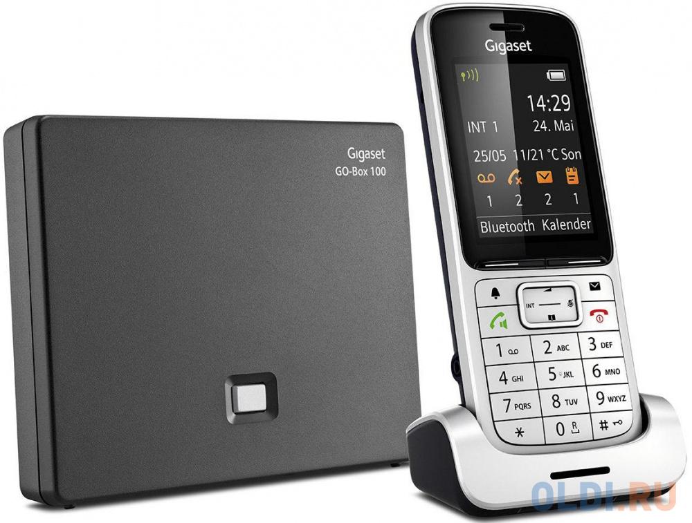 Телефон IP Gigaset SL450A GO серебристый S30852-H2721-S301 телефон ip gigaset sl450a go серебристый s30852 h2721 s301