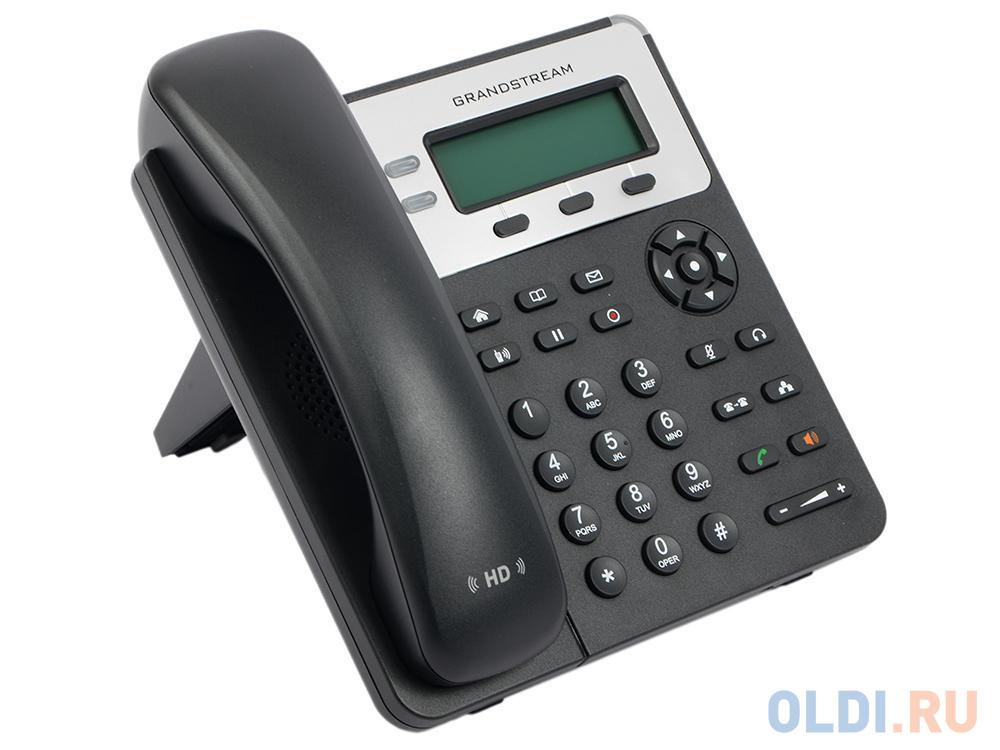 Телефон IP Grandstream GXP1625 2 линии 2 SIP-аккаунта 2x10/100Mbps LCD PoE