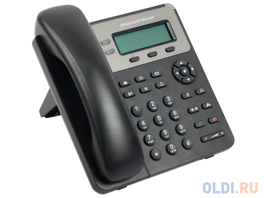 Телефон IP Grandstream GXP1620 2 линии 2 SIP-аккаунта 2x10/100Mbps LCD