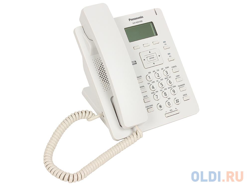 Телефон IP Panasonic KX-HDV100RU SIP Цифр. IP-телефон, VoIP, Ethernet, Память 500, Звук HD недорого