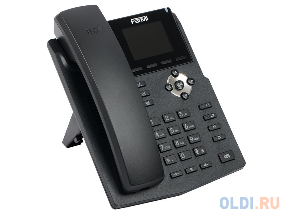Телефон IP Fanvil X3SP 2 линии 2x10/100Mbps цветной  LCD PoE.