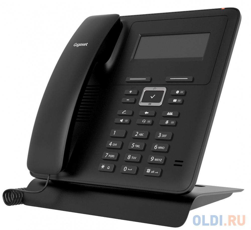 Телефон IP Gigaset MAXWELL BASIC черный телефон gigaset da610 черный