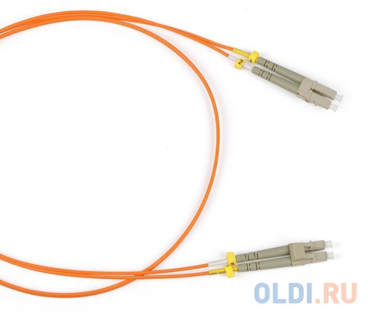 Hyperline FC-D2-504-LC/PR-LC/PR-H-5M-LSZH-MG Патч-корд волоконно-оптический (шнур) MM 50/125(OM4), LC-LC, duplex, LSZH, 5 м