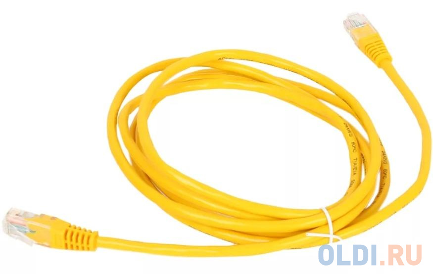 Exegate EX258668RUS Патч-корд UTP кат. 5e  1.5м Exegate желтый.