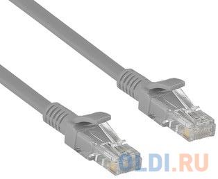 Exegate EX282025RUS Патч-корд Exegate UTP-RJ45-RJ45-C6-1M-GY UTP cat.6 1м серый.