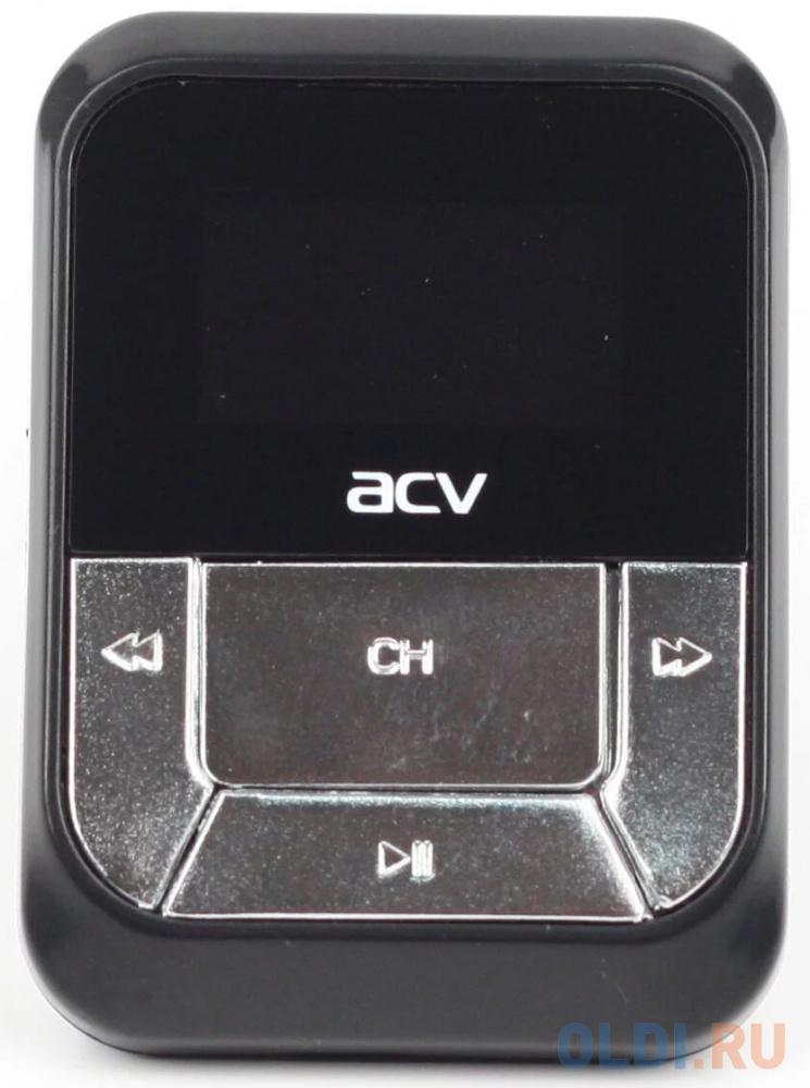 Фото - Автомобильный FM-модулятор ACV FMT-112 черный MicroSD USB PDU (18069) fm модулятор ritmix fmt a720 красный