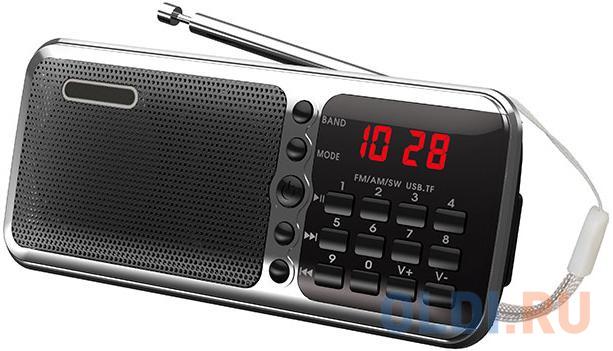 Радиоприемник Сигнал РП-226 черный/серебристый