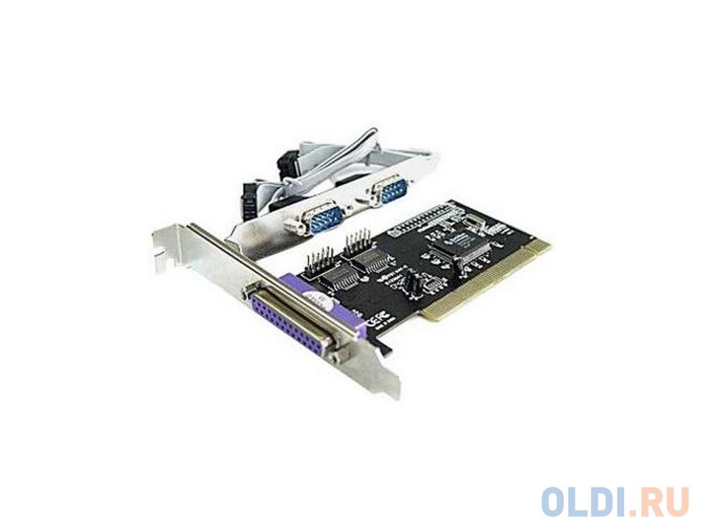 Контроллер ST-Lab I-420 PCI RS-232 + LPT/EPP , 2 COM Ports 1LPT, PCI, Retail недорого
