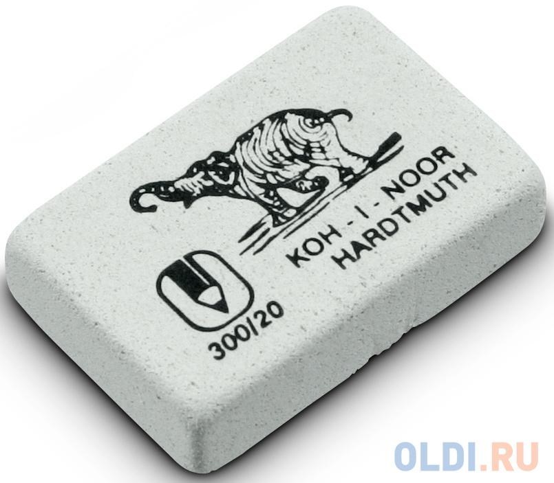 Ластик Koh-i-Noor Elephant 1 шт прямоугольный 300/20 koh i noor ластик 300 40