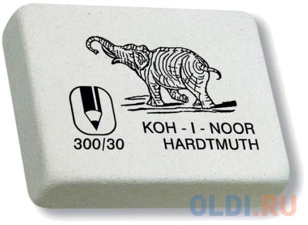 Ластик Koh-i-Noor Elephant 1 шт прямоугольный 300/30-27 koh i noor ластик 300 40