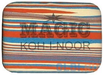 Ластик Koh-i-Noor MAGIC 1 шт прямоугольный 6516/30 фото