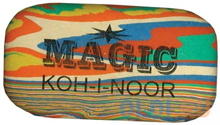 Ластик Koh-i-Noor MAGIC 1 шт прямоугольный 6516/48 koh i noor ластик 300 40