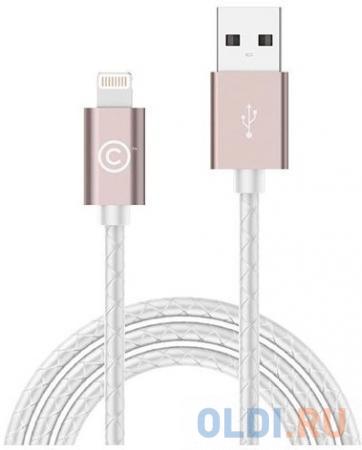 Кабель Lightning 1.8м LAB.C Leather Cable A.L круглый розовый LABC-511-RG компьютер