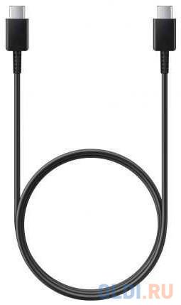 Фото - Кабель Type-C 1м Samsung EP-DA705BBRGRU круглый черный кабель usb2 0 type c type c 1m samsung ep da705bbrgru черный