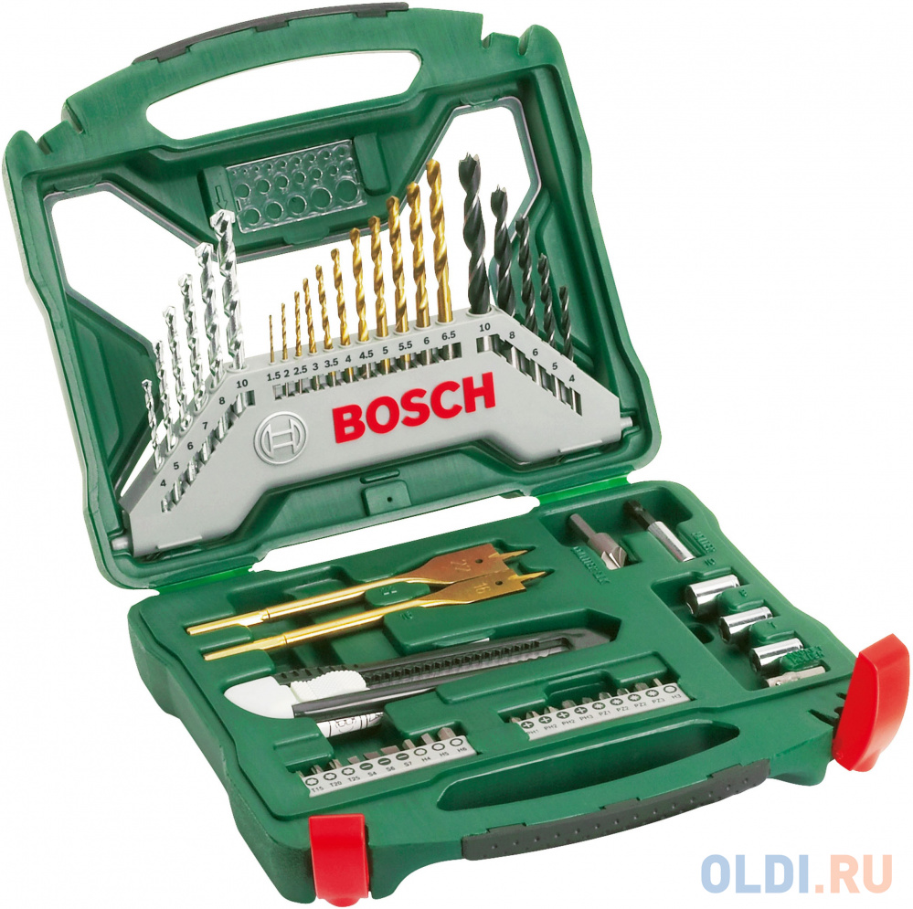 Набор бит и сверел Bosch X-Line-50 TI 2607019327