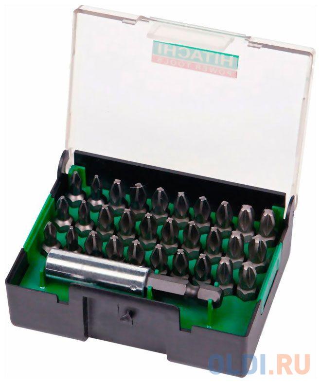 HITACHI Набор из 31 насадки (длина 25 мм_Phillips) с магнитным держателем.