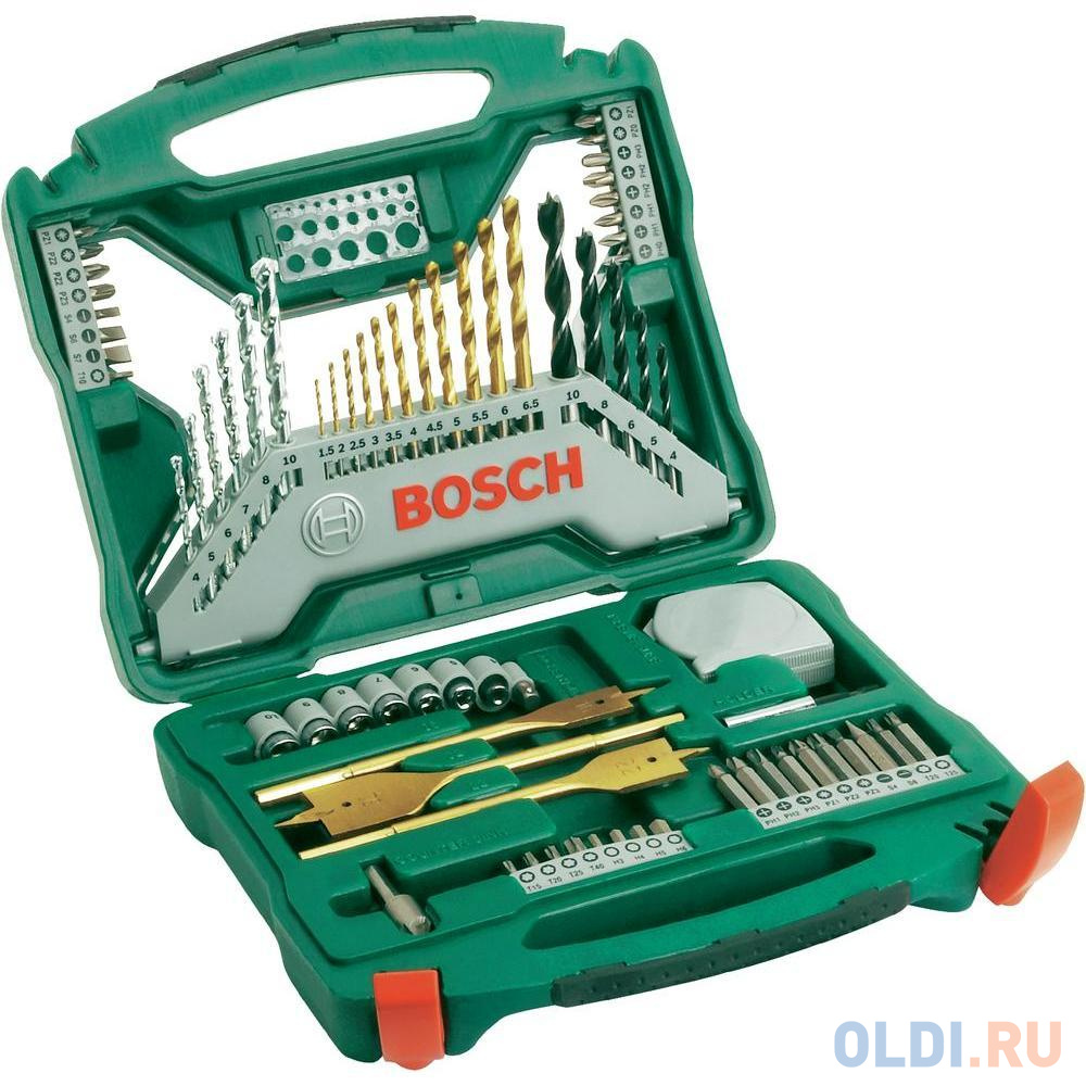 Набор бит и сверел Bosch X-Line-70 2607019329879 набор отверток bosch x line 46 2 607 019 504