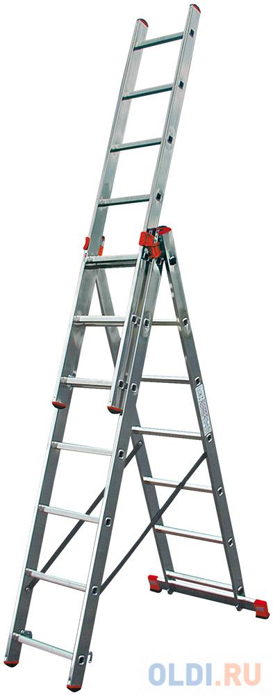 Лестница Krause TRIBILO универсальная 3х6 3х6 ступеней